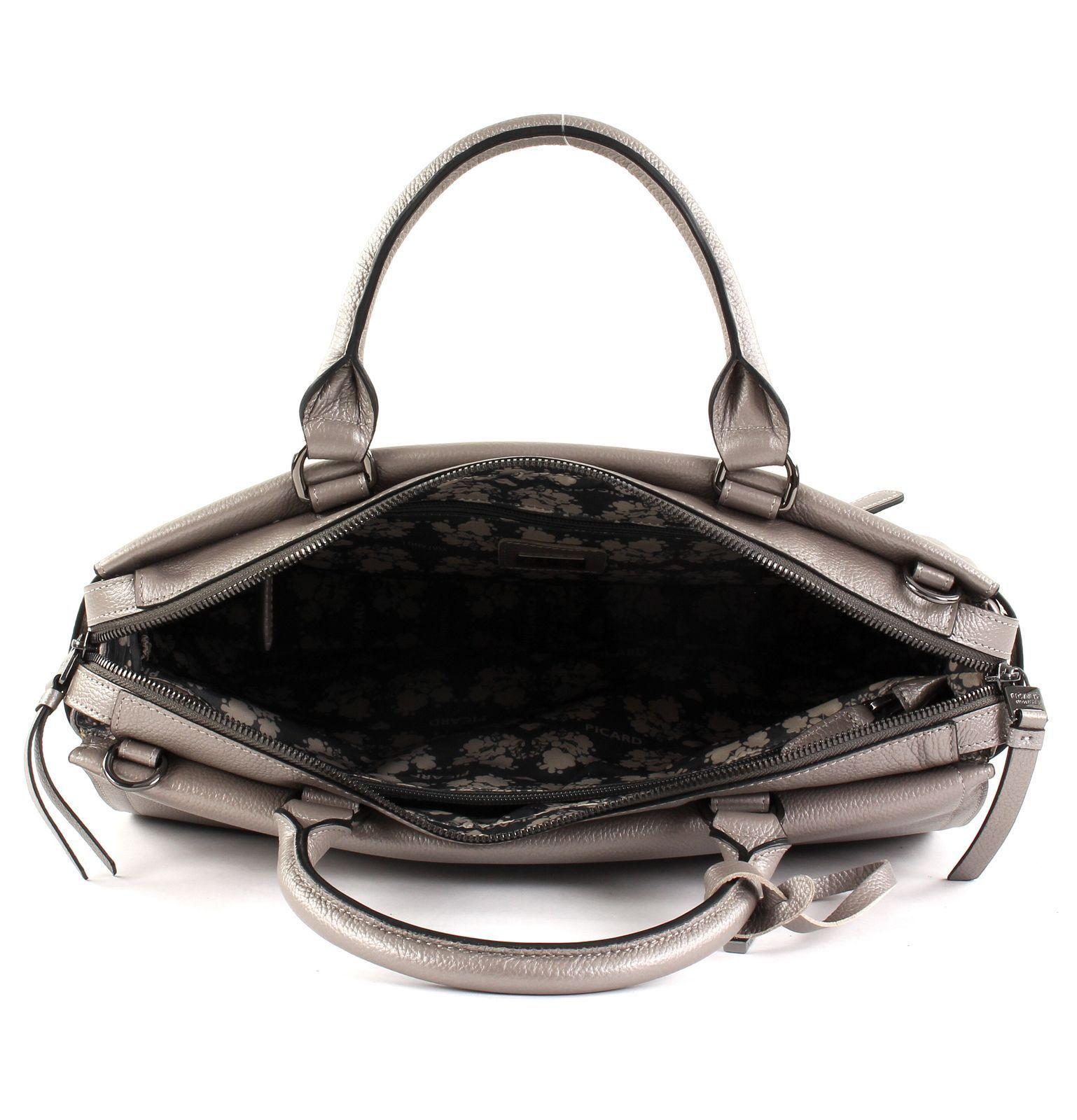 PICARD Lola Handbag Handtasche Bürotasche Bürotasche Bürotasche Schultertasche Tasche Altsilber Silber | Verkauf Online-Shop  | Sale Outlet  | Sehen Sie die Welt aus der Perspektive des Kindes  3370f2