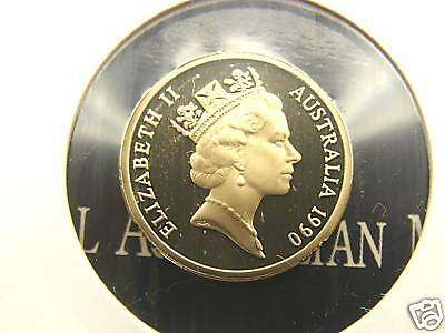 Brilliant coin In proof sets only! Only 53,000 made 1990  20 cent proof coin