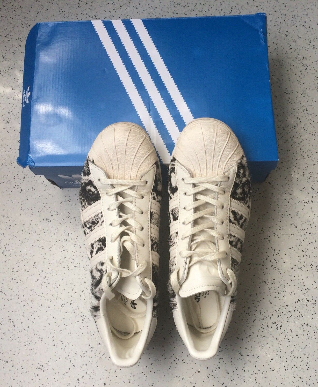 ADIDAS ORIGINALS superstar señora NP 80s sneakers naturweiss como nuevo NP señora 100 22a2ab