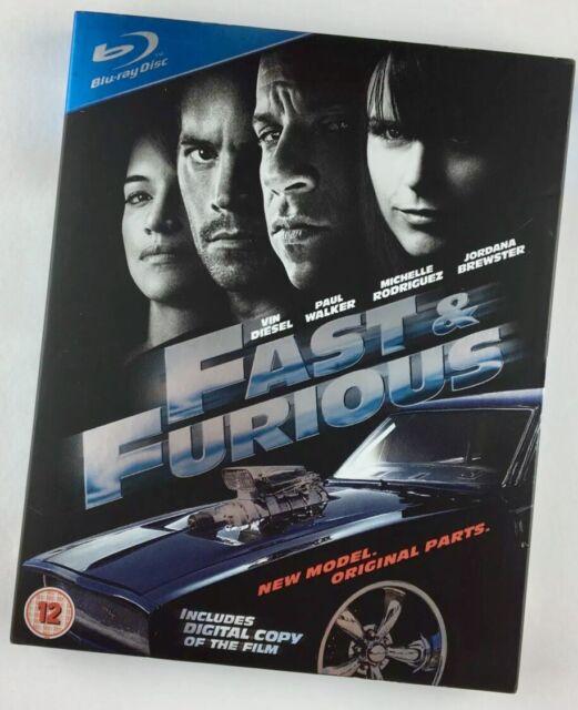Fast & Furious Blu-ray Region B (2009) Vin Diesel