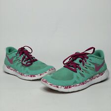 low priced 941f4 0a1a1 item 6 Nike Free 5.0 Womens Size US 4.5Y Green Mint Pink White -Nike Free  5.0 Womens Size US 4.5Y Green Mint Pink White