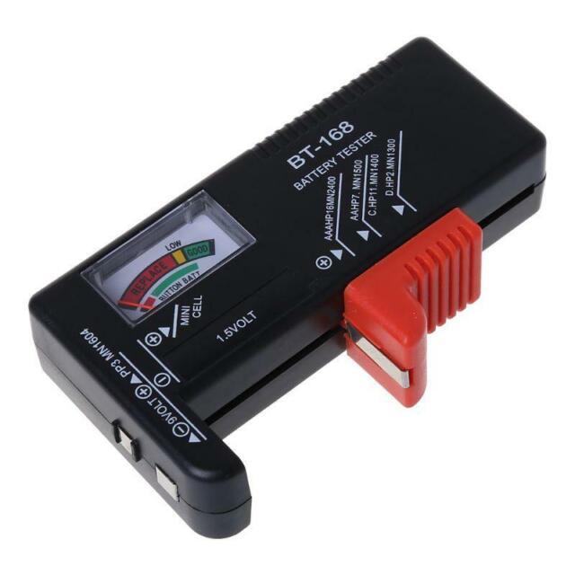 Universal Battery Tester AA AAA C D 9V Button Cell Checker Volt Tester Checker
