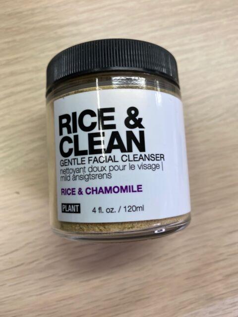 Planta boticario arroz y limpia Limpiador Facial-arroz y Manzanilla - 4oz