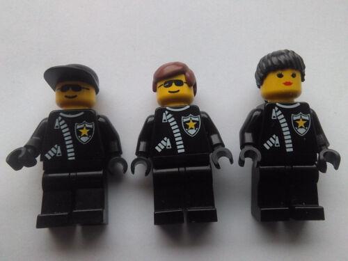 LEGO 3 x CLASSIC POLICE MINIFIGURES