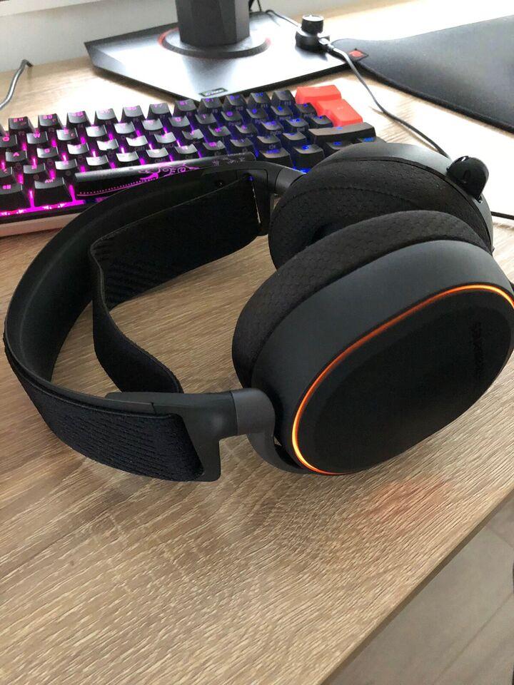 headset hovedtelefoner, SteelSeries, Arktis Pro