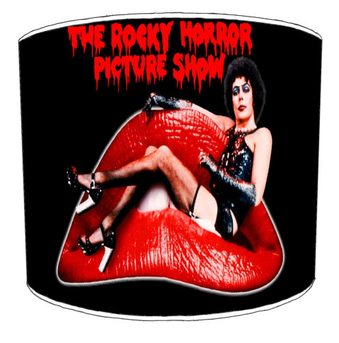 Transvestite Lampshades Ideal To Match The Rocky Horror Show Films Wall Art.