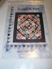 Kaye England Signature Scraps Quilt Pattern Only Blueberry Baskets SS208