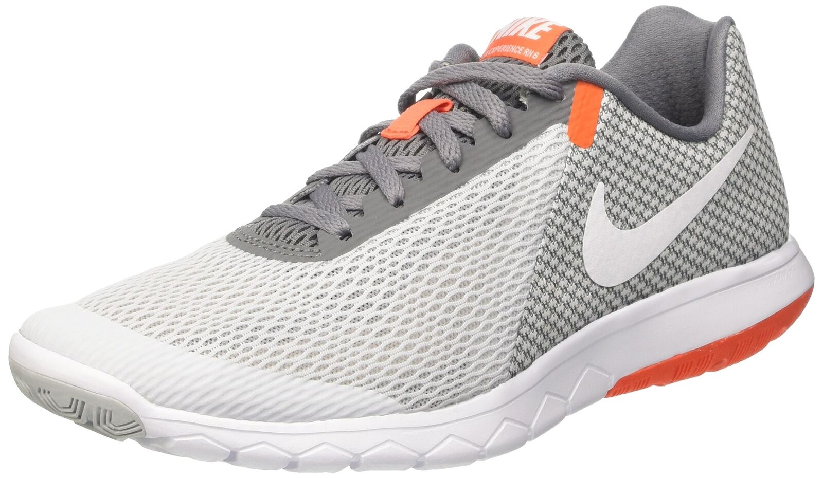 NIKE Men's Flex Experience RN 6 Running Shoes Pure Platinum/White/Cool Grey