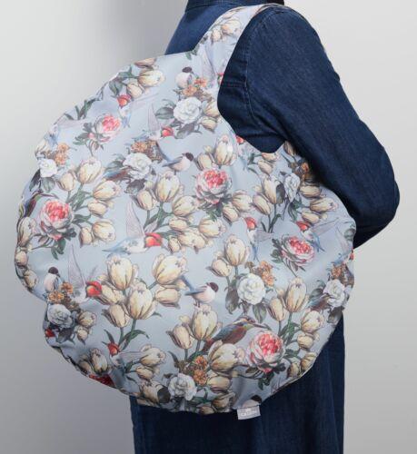 CEDON Easy Bag Round XL Riesenshopper Einkaufstasche Strandztasche Eisvogel