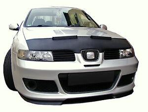 Haubenbra-Seat-Leon-Toledo-1M-Car-Bra-Steinschlagschutz-Automaske-Maske