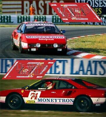Calcas Ferrari 550 24h Spa 2004 1 1:32 1:43 1:24 1:18 decals