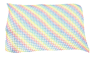 40 sq ft 5 ft x 8 ft  Rainbow netting