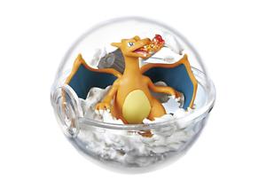 Re-ment-Pokemon-Terrarium-Pokeball-Collection-2-Figure-Charizard-Ship-in-Box