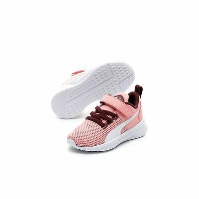 Puma Unisex Flyer Runner V Inf Kinder Baby Schuhe Sneaker 192930 Schwarz