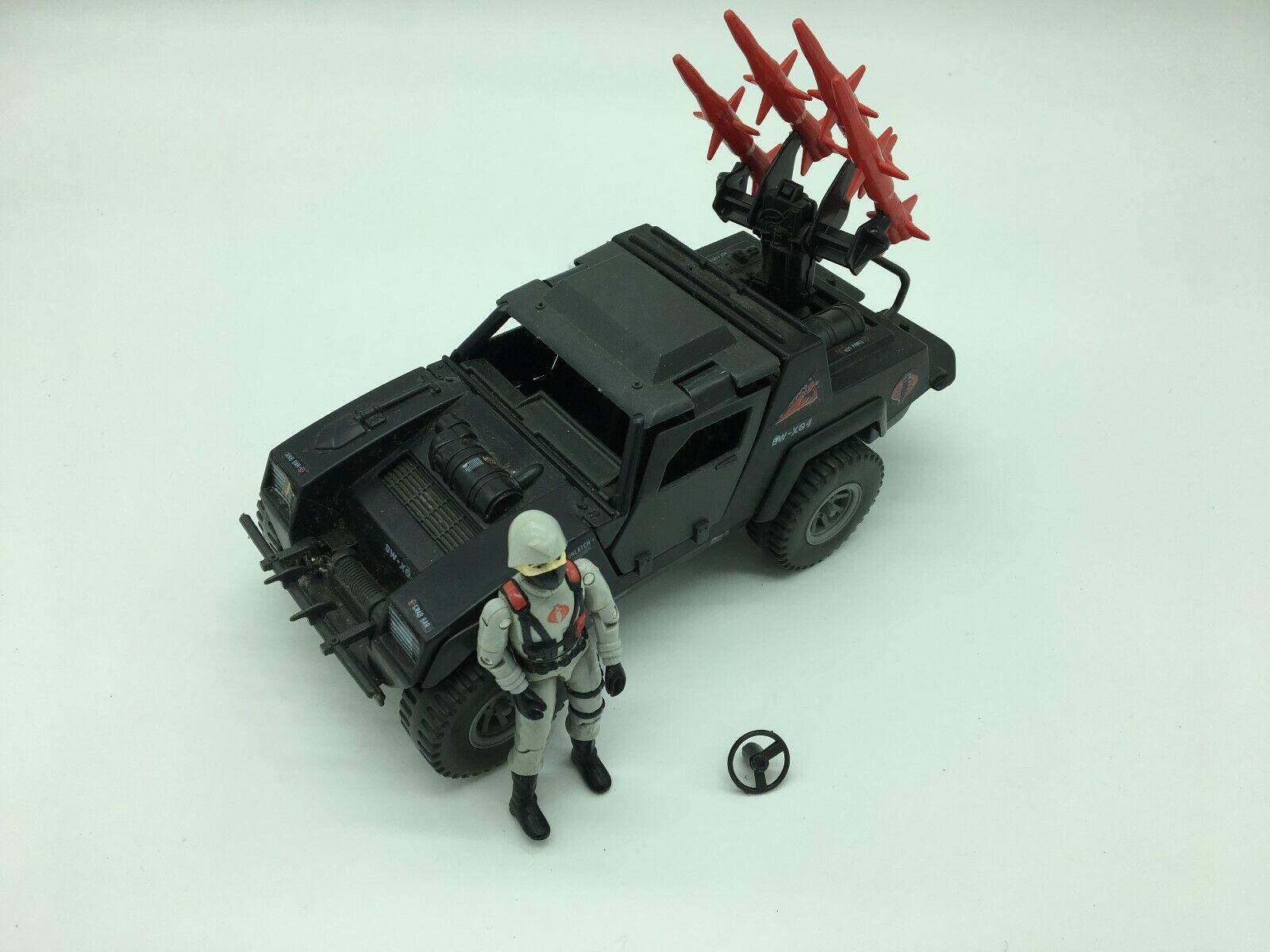 Fuerza De Acción Gi Joe Cobra noche vehículo de ataque, 1980S, Completa,