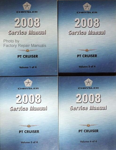 2008 Chrysler Pt Cruiser Factory Service Manual Set