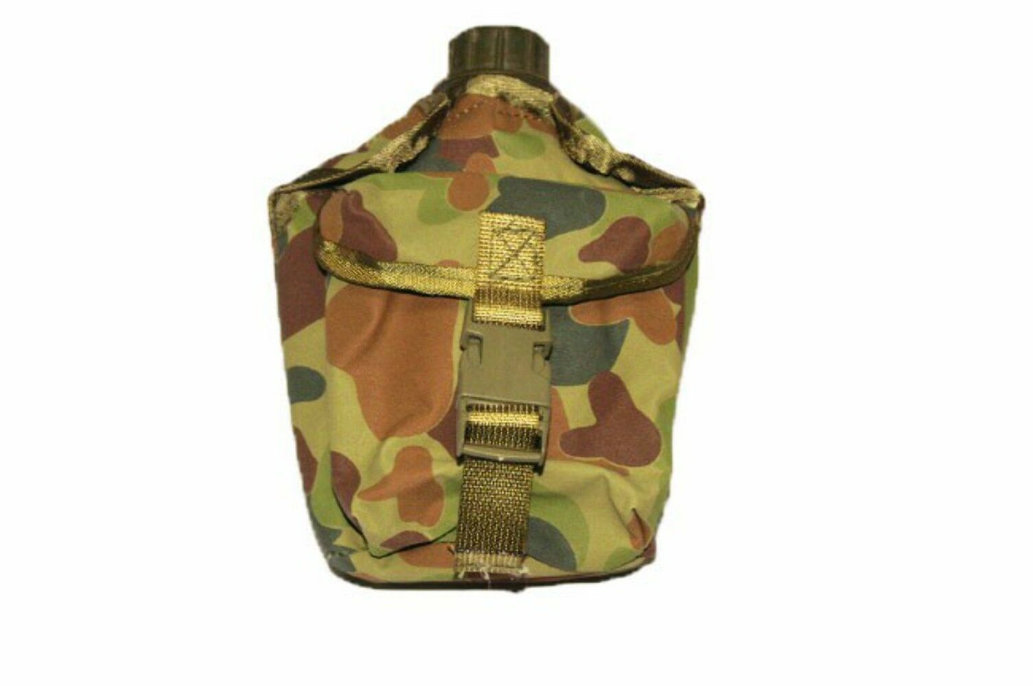Army Canteen Cover - Canvas - Auscam - Army & Military