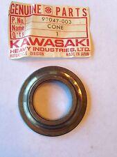 KAWASAKI CONE STEERING BEARING, UPPER F3,F4,F5,F8,F9,F11 92047-003 NOS!
