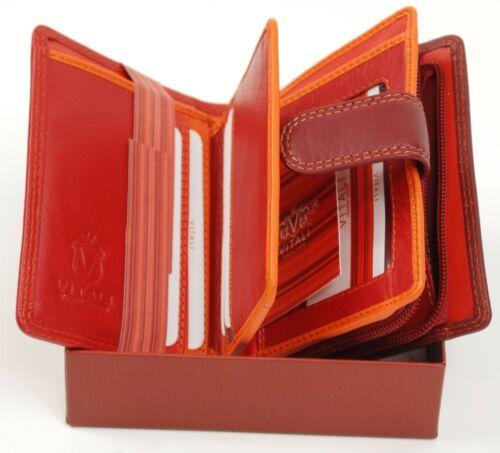 Ladies Luxury Soft Italian Red Leather Purse