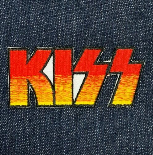 KISS HEAVY METAL ROCK MUSIC BAND IRON ON EMBROIDERED PATCH