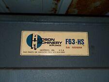 20 Ton Hudson F63hs Traveling Head Die Cuttingclicker Press 28441