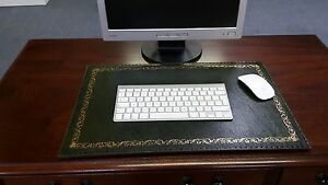 LEATHER-DESK-MAT-PAD-ANTIQUE-FINISH