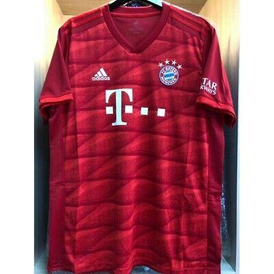 Fc Bayern Munich Home Football Jersey 19 20 Bnwt Adidas Bundesliga Ebay