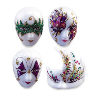 Reutter Porzellan Masks Set Mask Masquerade Carnival Dollhouse 1:12