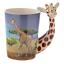thumbnail 2 - Animal Shaped Handle Ceramic Mug Tea Coffee Cup Novelty Gift Jungle Tropical