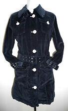 Street One 36 Cordmantel Kord Mantel Cord Kordjacke Corduroy coat jacket navy