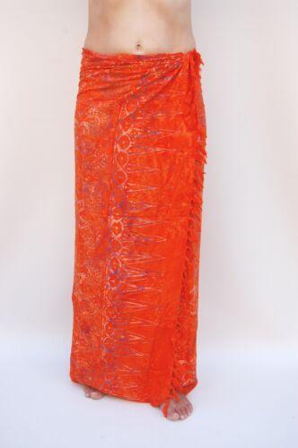 SA355P Sarong Premium Qualität Pareo Tuch Wickelrock Wandbehang Sari Sarongs