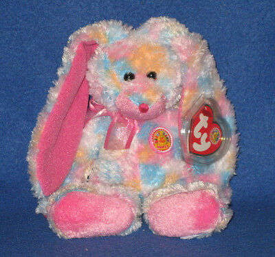 TY SAPPHIRE the BEAR BEANIE BABY MINT RETIRED BBOM