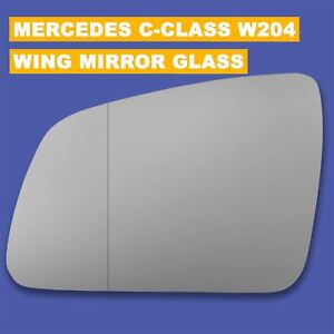 For Mercedes Cclass W204 C200 2009-14 Wing Mirror Glass CONVEX  PLATE Left //E024