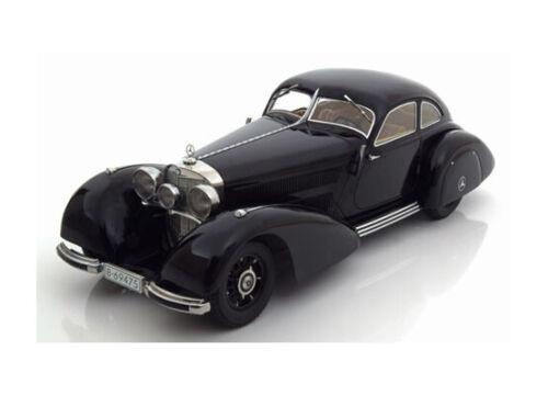 New * 1:18 KK-Scale Mercedes 540k /'autoroute Coursier/' 1938 Black
