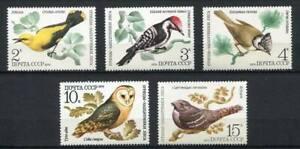 30227) RUSSIA 1979 MNH** Birds 5v. Scott#4776/80-