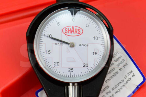 "Shars 10-16/"" Dial Bore Gauge GAGE .0005/"" Engine Cylinder Measuring Hole New"