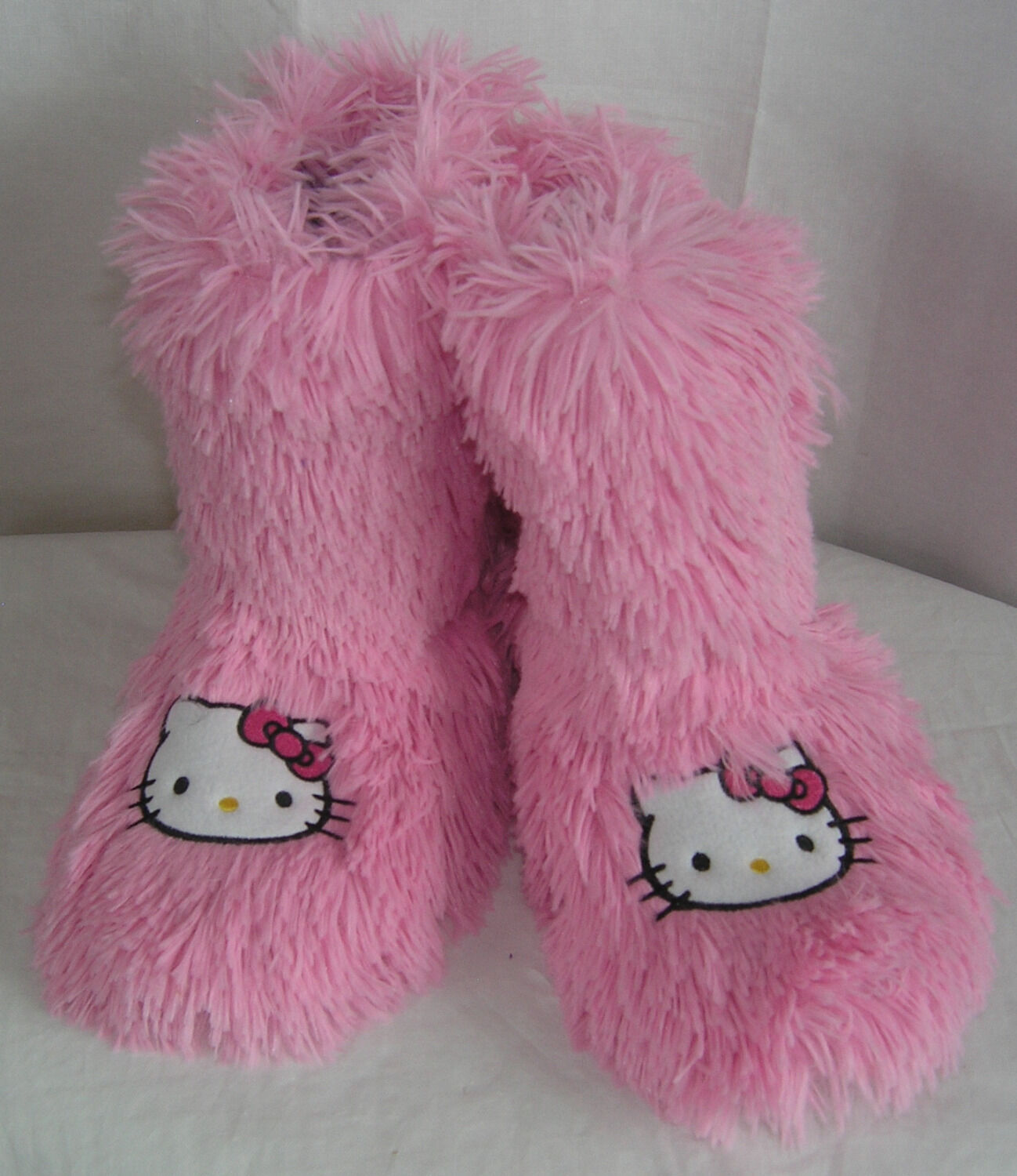 Hello Kitty Slipper Booties PINK NICE GIFT FREE USA SHIPPING SMALL 5-6