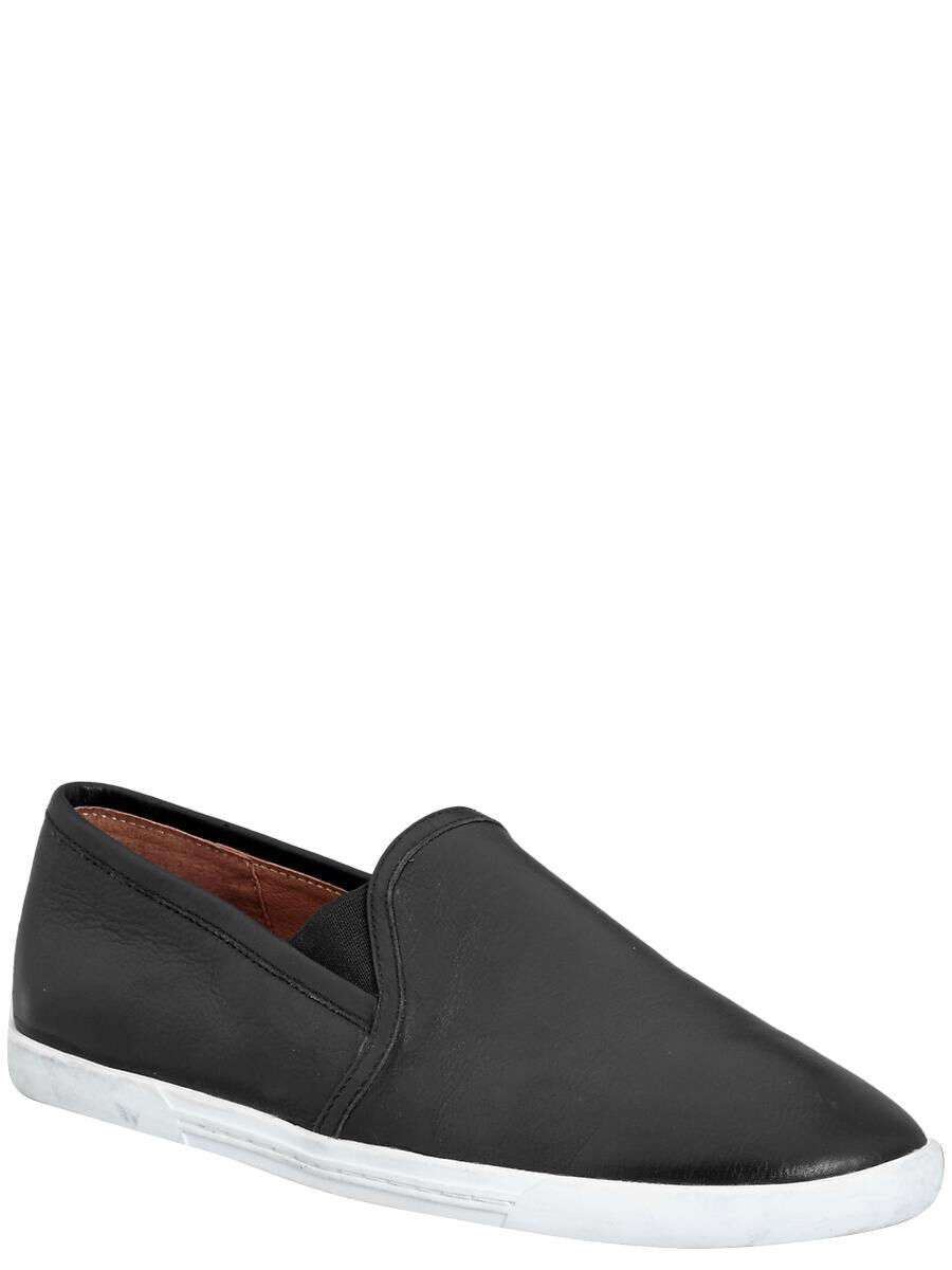 Joie Kidmore Skate Slip-On Shoe/Sneakers Black Leather SIZE 39.5
