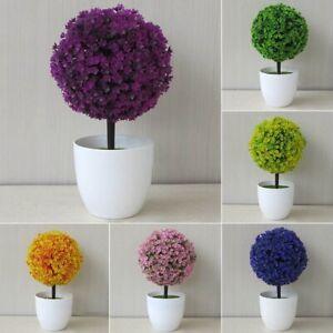 Detalles Acerca De Planta Artificial Al Aire Libre Bola Decorativa Color Olla De árbol Pequeño Mediano Grande Hx Mostrar Título Original