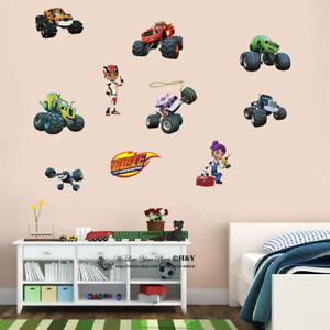 Blaze-and-the-Monster-Machines-Kids-Wall-Art-Stickers-Nursery-Boys-Girls-Decal