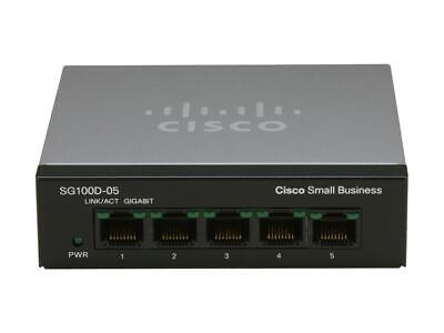 Cisco SF110D 110 Series 5-Port Unmanaged Network Switch SF110D-05-NA