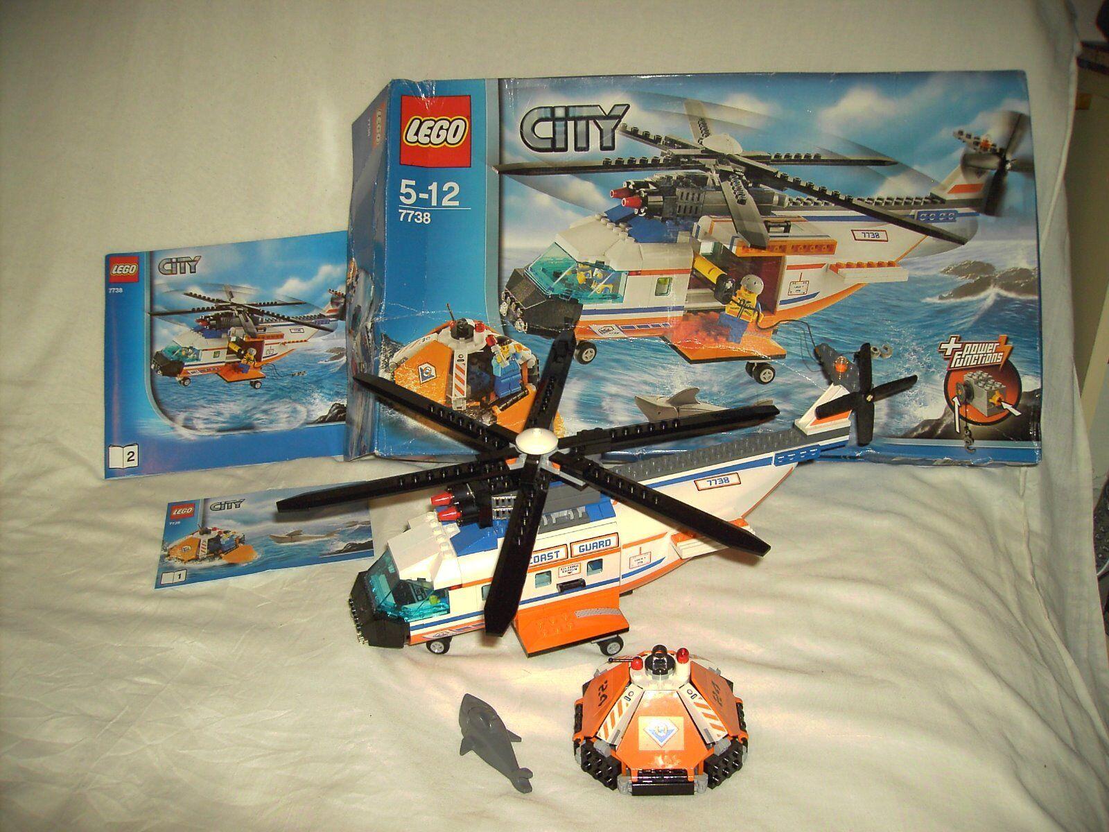 LEGO CITY 7738 - COASTGUARD HELICOPTOR AND LIFE RAFT