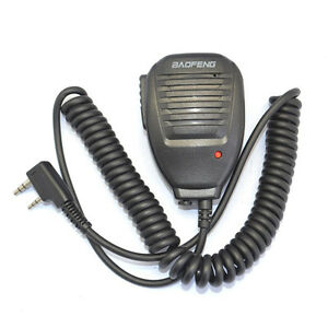 FOR Handheld BAOFENG UV-5R 2 Way BF-F8 WP970 888s Speaker Mic Walkie Talki Radio