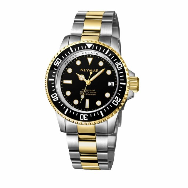 NEYMAR 40MM ten years battery 1000M diver watchmaster pieces with sapphire glass