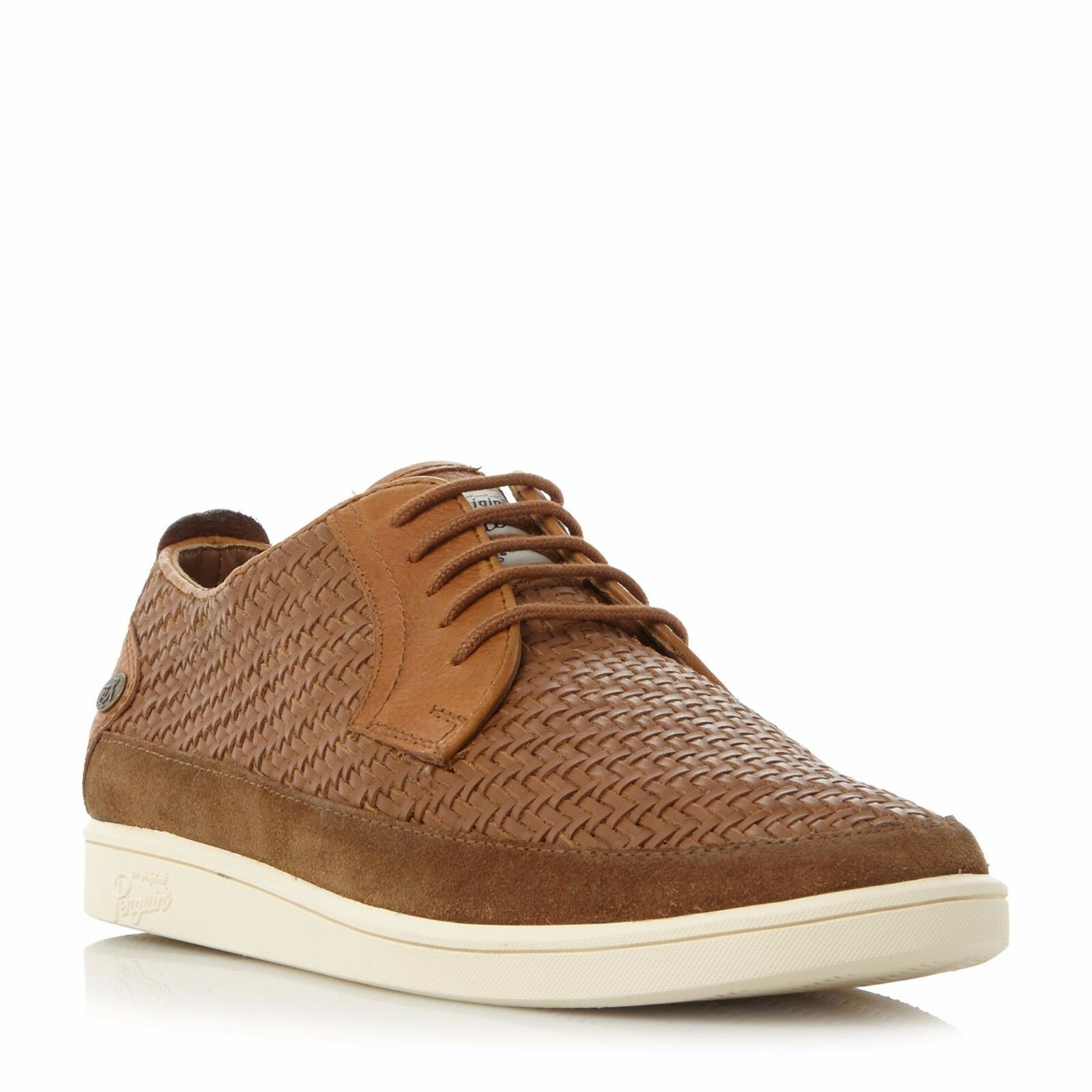 Original Penguin Tan Leather Weave shoes  Size - 11 (Style Name - Lime)