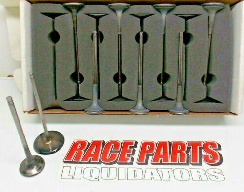 2.200  /& 1.610 TITANIUM VALVE SET RO7 CHEVY RACE NASCAR DEL WEST OVAL 042219-16