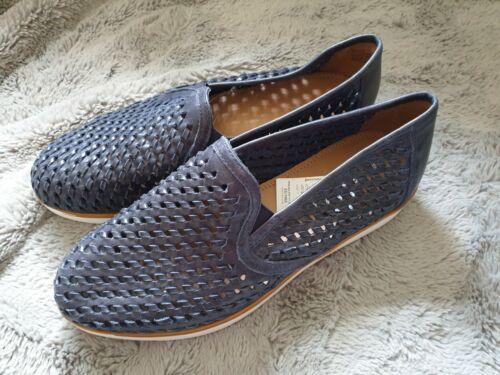 womens next blue slip on shoes sizes uk 6.6//7//8 rrp £48