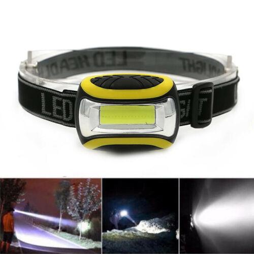 Wasserdicht COB Stirnlampe LED 2000LM Scheinwerfer AAA Taschenlampe Kopflampe DE