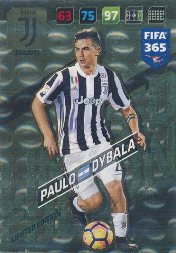 Panini fifa 365 cards 2018 Adrenalyn XL-paulo dybala-Limited Edition