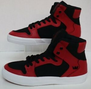 bce21738930e Image is loading Supra-Kids-Vaider-Red-Black-White-SK11251-Toddler-